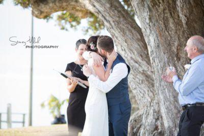 amie and liam wedding ceremony - the kiss.jpg